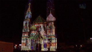 Les illuminations de Noël à Nîmes