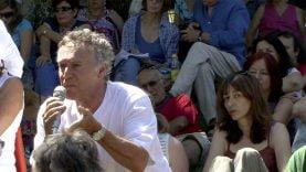 Manifestation anti gaz de schistes du Vigan avec José Bové