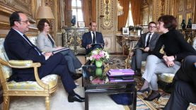 Quand Carole Delga rencontre François Hollande