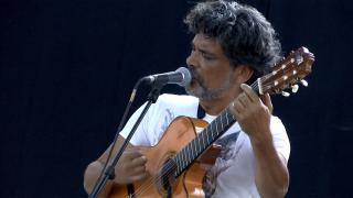 Sous le soleil de Bodega, un air de musique que l'on connait et que l'on sifflote facilement, à Sumène lors des Transes Cévenoles 2012