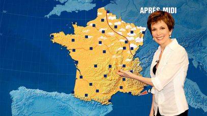 Catherine Laborde, la présentatrice emblématique de TF1 prend sa retraite après 28 ans d'antenne et de météo.