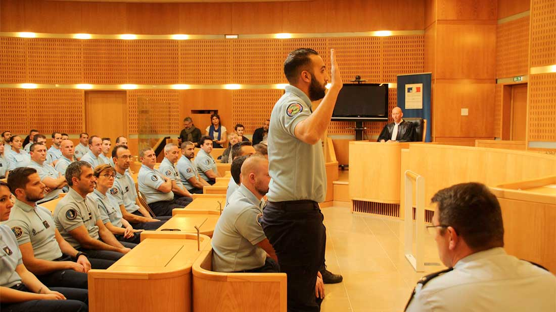 Chaque gendarme réserviste prêtera serment