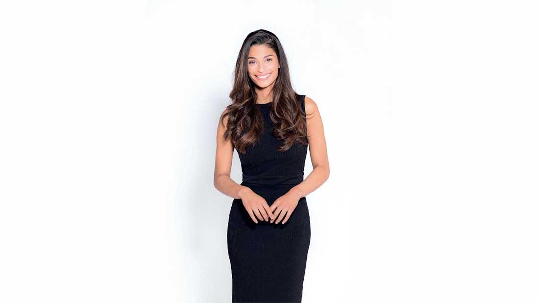 Tatiana Silva, nouvelle présentatrice météo sur TFI