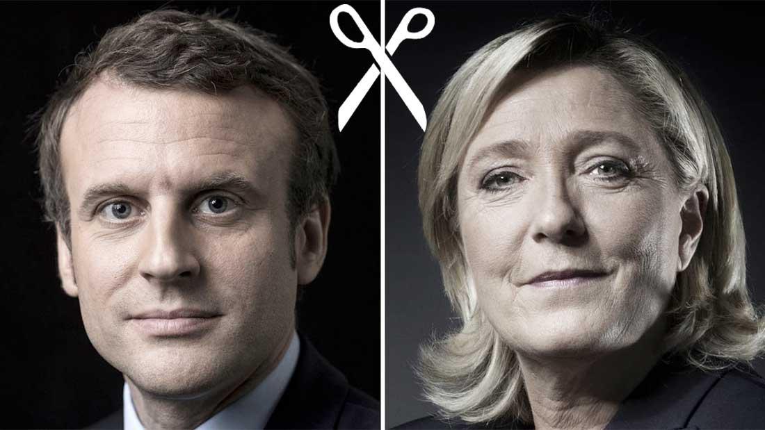 Une France coupée en deux au premier tour de l'élection présidentielle
