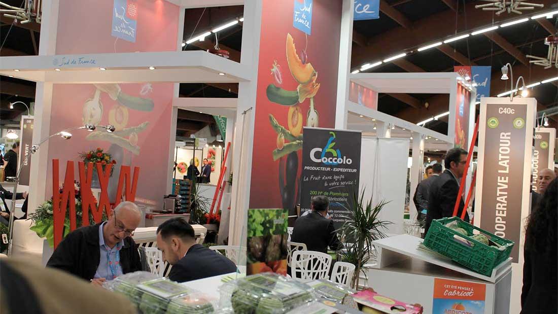 L'unique rendez-vous international d'affaires des fruits et légumes en France à Perpignan, du 25 au 27 avril 2017