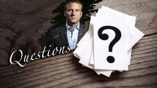 Macron et les questions qui fâchent