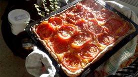 Les recettes de nos lecteurs : La tarte à la tomate bio