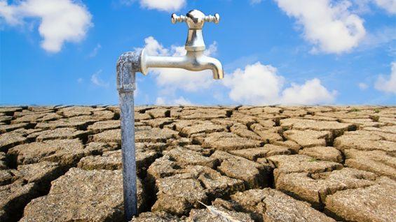 Zones alertes sécheresse dans le Gard