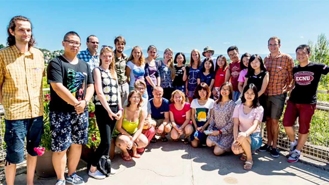 Nîmes : rencontre culturelle de jeunes français, allemands et chinois 1