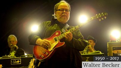 Décès du guitariste Walter Becker