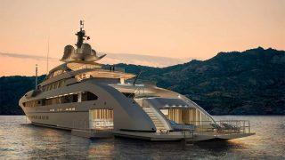 Le yacht, symbole de la réussite pour de nombreux riches.