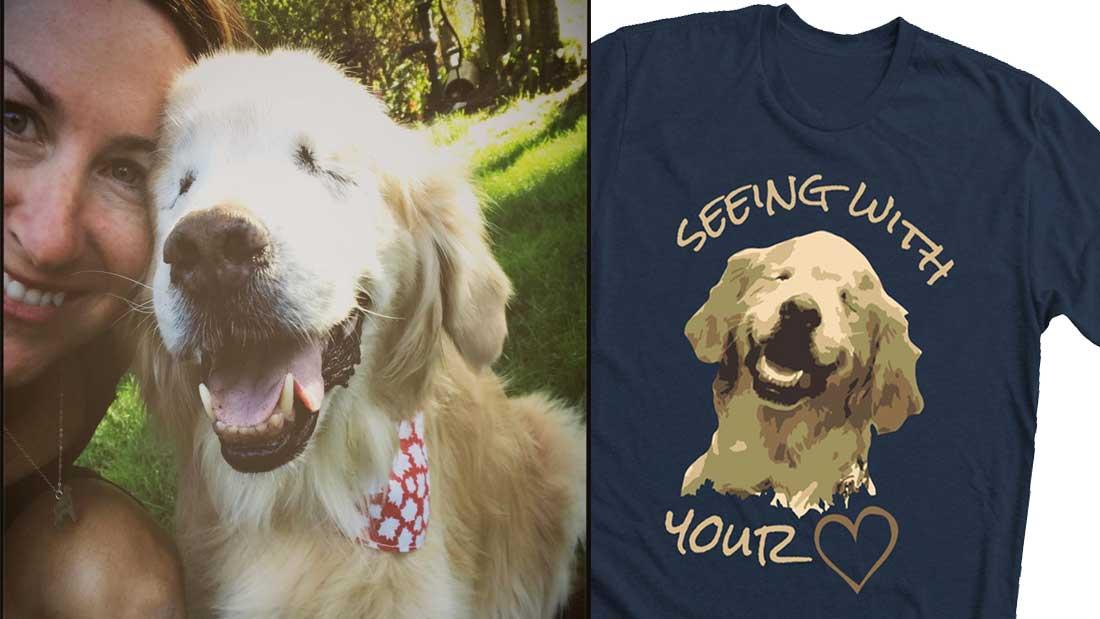 Des teeshirts à l'effigie de Smiley pour continuer le dressage des chiens de thérapie