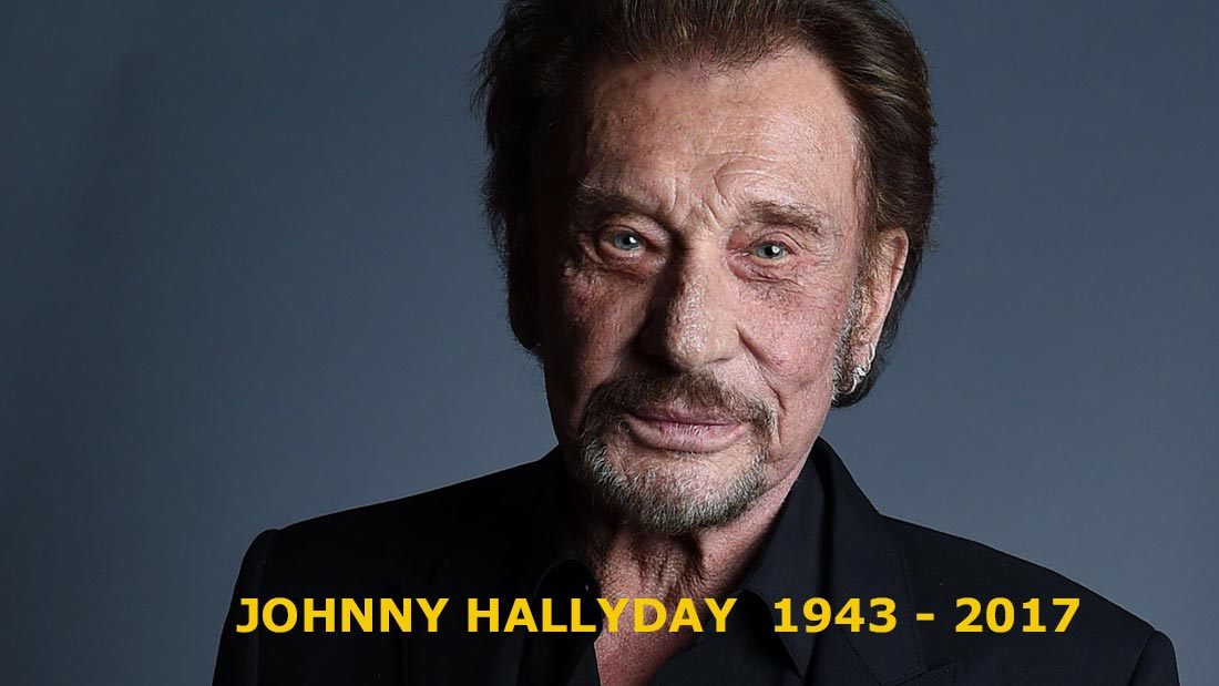 Johnny Hallyday ou la disparition d'une légende
