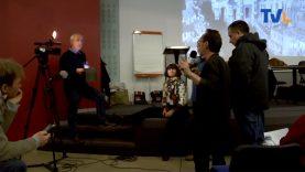 Première interview live pour Tv Languedoc devant 200 personnes
