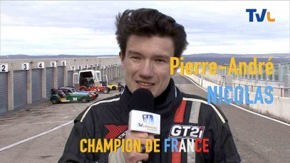Interview de Pierre-André Nicolas,  champion de France 2