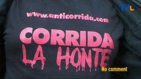 ALÈS : Les anti-corridas dans les rues