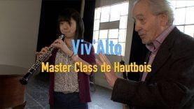 Une master class de Hautbois avec Maurice Bourgue en Cévennes