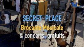 la brocante musicale de Secret Place ouvre ses porte