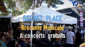 A Secret Place de nombreux concerts pendant la brocante musicale du deuxième week end de juin