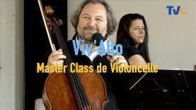 frédéric audibert, professeur de violoncelle à Lasalle en cévennes