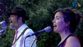 Bruno Deplaix et Lena Vassiliu sur scène