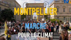 Marche pour le climat à Montpellier