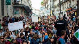 Tv Languedoc, présent au-coeur de la marche pour le climat à Montpellier