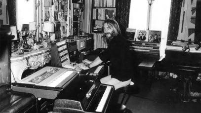 Le compositeur de musique de film Francois de roubaix
