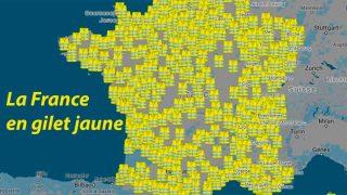 La France en gilet jaune