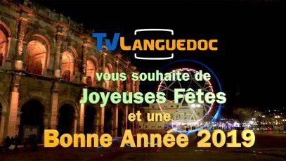 Tv Languedoc vous souhaite une bonne année 2019