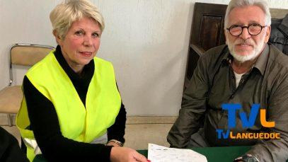 Remise des doléances des Gilets Jaunes au maire de Gallargues le Montueux