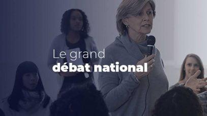 Grand débat du gouvernement
