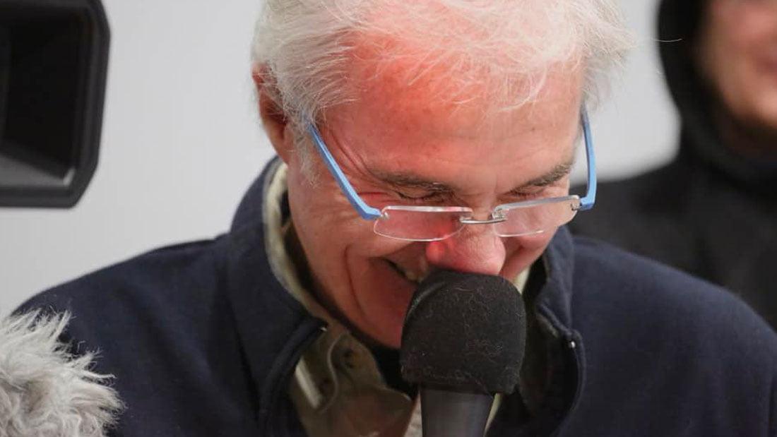 Quand les propos de Christophe Chalençon à propos de la ligne molle, font sourire notre journaliste Thierry Jirkovsky
