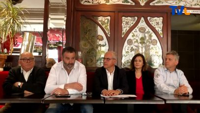 Conférence de presse pour Evolution Citoyenne qui présente à Paris le lancement de la liste pour les élections européennes