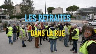 Faible mobilisation des retraités et de quelques gilets jaunes dans les rues de Lunel