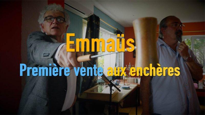 Emmaus Montpellier a organisé sa première vente aux enchères avec succès