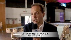 Jean-Christophe Lagarde, président de l'UDI répond à notre question sur le Brexit mais également sur le référendum de 2005 sur lequel les françaos ont voté contre à 54 %