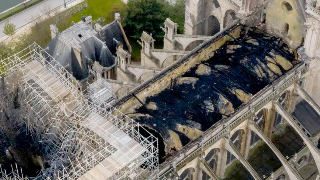 L'incendie de Notre-Dame de Paris a fait médiatiquement le tour du monde