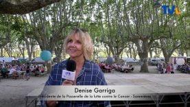 Denise Garriga, présidente de la lutte contre le cancer à Sommieres