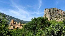 Le Roc de Tras Castel à Saint-Jean de Buèges