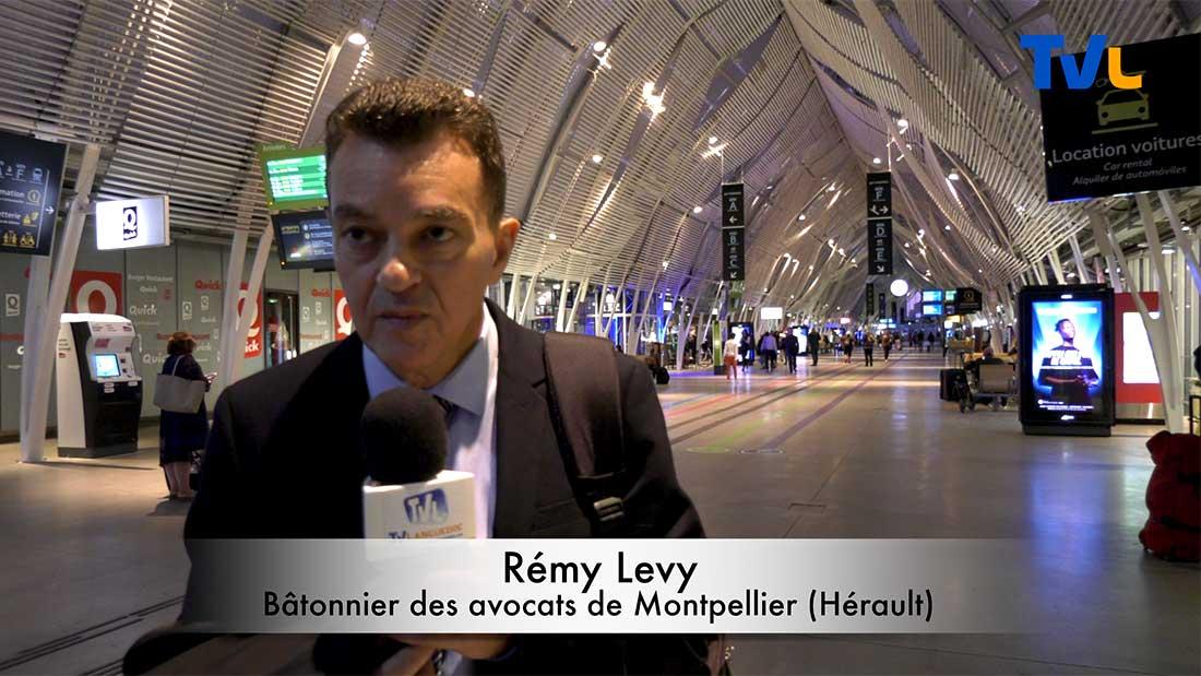 Me Rémy Levy, bâtonnier du barreau des avocats de Montpellier, sur la grande manifestation parisienne contre le projet de réforme des retraites