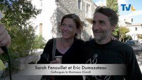 Sarah Fenouillet et Eric Dumazateau, un couple jouant la carte de l'humour lors de cette fête du possible 2019