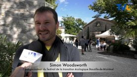 Simon Woodsworth co-organisateur de la fête du possible 2019 à St Bauzille de Montmel