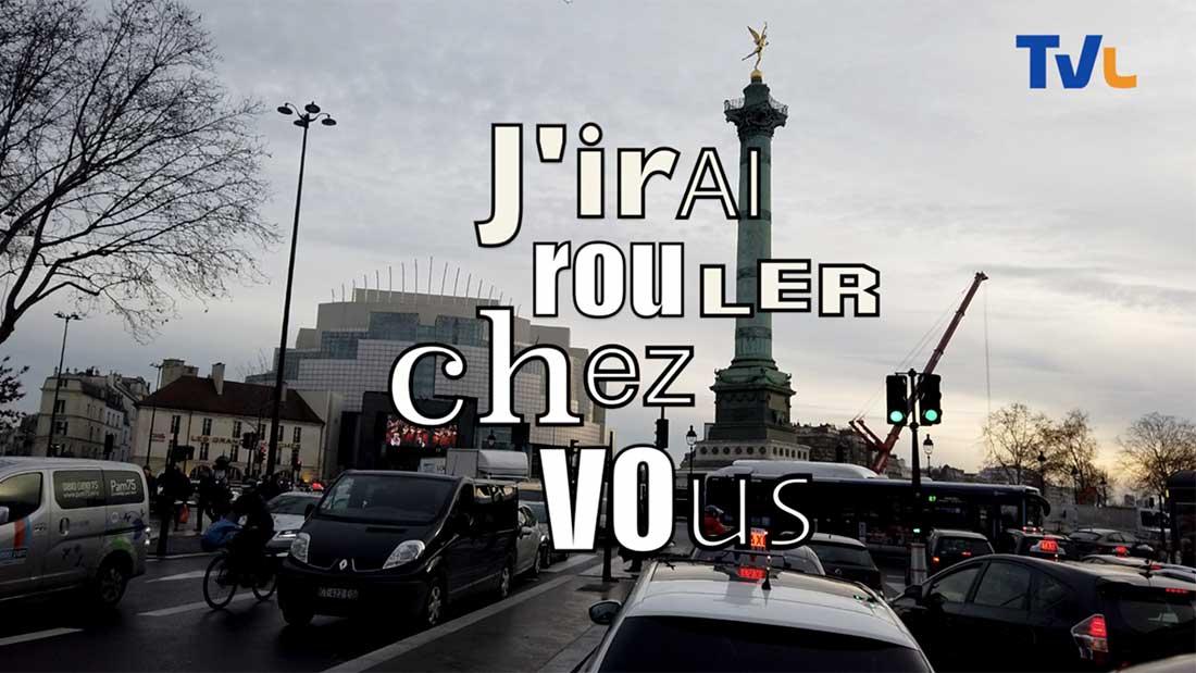 J'irai rouler chez vous …pendant les grèves à Paris