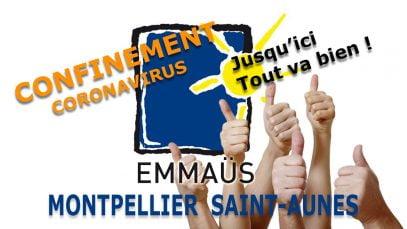 Le confinement est respecté dans la communauté Emmaus de Montpellier
