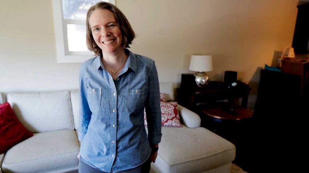 Jennifer Haller, première patiente au monde vaccinée contre le coronavirus humain