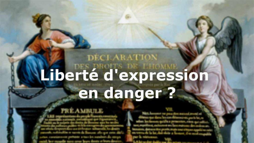 Qui voudrait vivre sous un régime qui décide souverainement de ce qui doit être dit ?