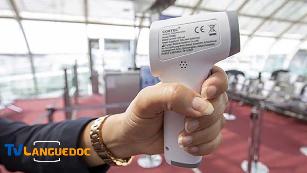 Une prise de température sans contact sera effectué avant tout embarquement par le personnel d'Air France