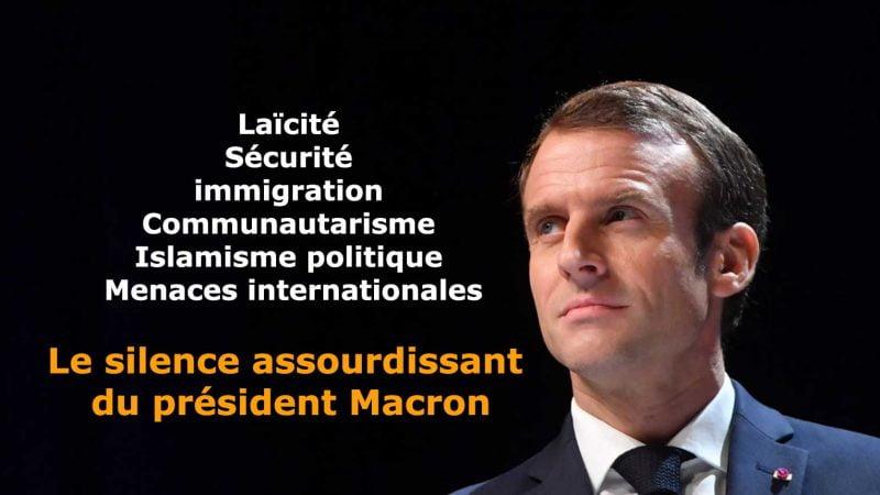 Le silence assourdissant du président Macron sur les sujets régaliens