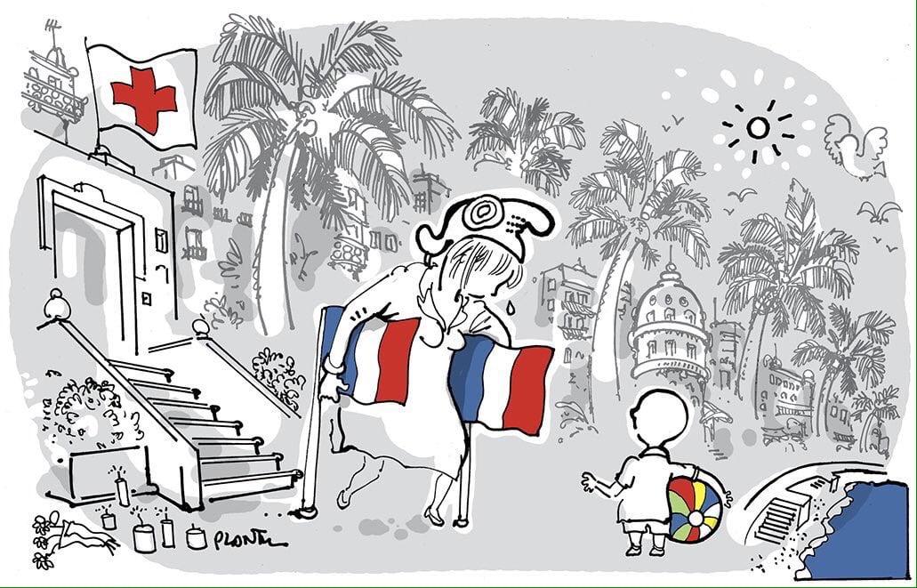 La France meurtrie, ses enfants abasourdis